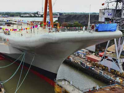 Video : INS Vikrant, India's 1st indigenous aircraft carrier, launched