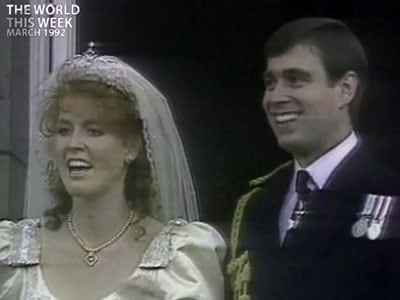 Video : The World This Week: A royal scandal (Aired: March 1992)