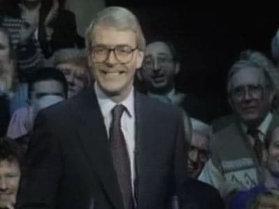 Video : The World This Week: John Major elected British Prime Minister (Aired: April 1992)