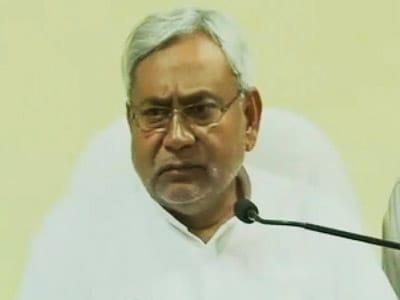 Video : Chief Minister Nitish Kumar on Bihar train tragedy