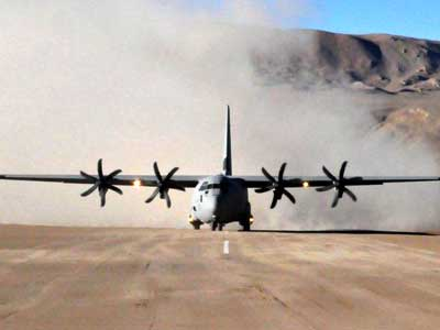 Video : In strong message to China, Air Force lands C 130J-30 at Daulat Beg Oldie
