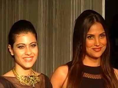 Kajol, Lara cheer for Manish Malhotra