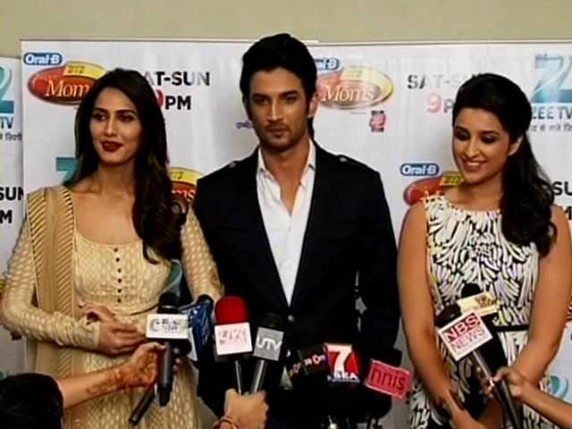 Video : Parineeti, Sushant, Vaani on their supermoms