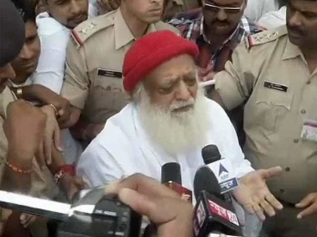 Video : Sonia, Rahul Gandhi are ensuring I am persecuted: spiritual leader Asaram Bapu