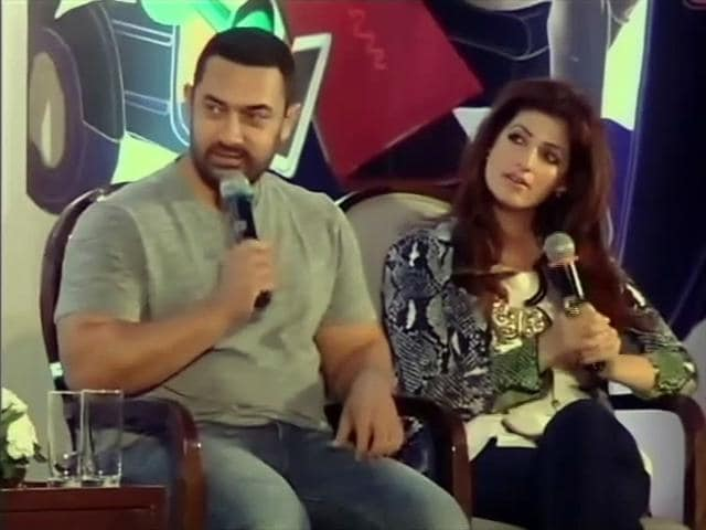 Video : Aamir on Being 'Misused' at Twinkle's Wedding to Akshay