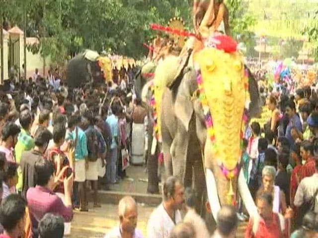 Video : Thrissur Pooram, Huge Kerala Fest, Will Have Fireworks, Agrees Court