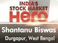 Shantanu Biswas wins India's stock market hero contest