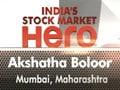 India's stock market hero winner: Akshatha Boloor