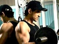 Hrithik's new year body