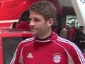 Weather and traffic was on Bayern players' mind