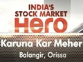 India's stock market hero contest winner: Karuna Kar Meher