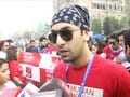 Video : Bollywood stars at Mumbai Marathon 2012