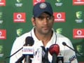 I am the leader, so I am the culprit: Dhoni
