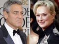 Clooney, Meryl Streep and The Artist: Golden Globe winners