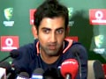Win more important than Sachin's 100: Gambhir