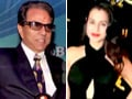 Video: Ameesha's style trouble, Dharmendra is miffed