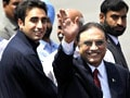 Video : Pakistan President Asif Ali Zardari arrives in India
