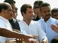 Video: Rahul Gandhi visits drought-hit Maharashtra district