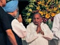 Video: Mulayam takes centre stage at UPA-II dinner