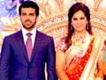 Video: Ram Charan Teja, Upasana's grand reception