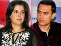 Video : Aamir delays Dhoom: 3 again, Farah has a new friend