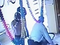 Video : Caught on camera: Men with guns rob Indore bank