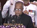Video : Pranab Mukherjee's acceptance speech as President