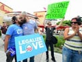Homosexuals target US fast-food chain Chick-fil-A with 'kiss-in'