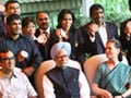 Olympic medal winners meet PM Manmohan Singh and Sonia Gandhi