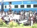 Video : Five killed as train hits car at unmanned crossing in Kerala