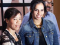 Video: Saina and Mary Kom given flats in Bangalore
