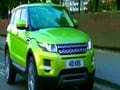 Video : Freewheeling with Range Rover Evoque