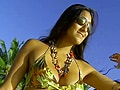 Beach babe Karuna heads to Natadola beach in Fiji