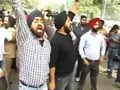 Video: Violence within Delhi gurudwara's premises
