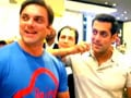 Video : Salman's Dubai shopping spree