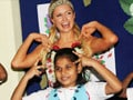Video : Paris Hilton's Chammak Challo act