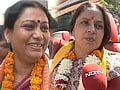 Video : Taking on Narendra Modi are the wives of two controversial men