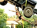 Hunt For The Kingfisher Calendar Girl 2013: The Superwoman task