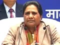 Video : Won't field candidates accused of rape: Mayawati