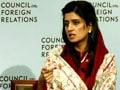 Video: Foreign Ministers should talk to defuse LoC tension: Hina Rabbani Khar