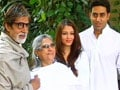 Video : Bachchans donate for charity