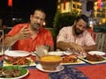 Rocky, Mayur go munching in Mangalore