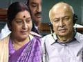 Videos : हैदराबाद धमाके पर शिंदे का बयान, सुषमा के सवाल