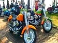 Harleys galore in India Bike Week