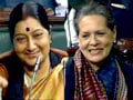 Budget 2013: What Chidambaram said to make Sonia, Sushma smile