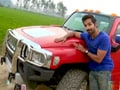 Video: Varun rides Luxury Limo in Jalandhar