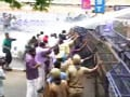 Video: Protesters clash with police outside Kerala assembly after minister quits