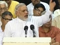 Video : No corruption in BJP-ruled states, Modi slams UPA, Left