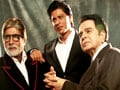 Video : Big B, SRK, Dilip Kumar come together for Filmfare cover shoot
