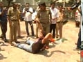 Video : Chit fund chief produced in court, angry protesters try to rush inside